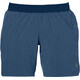 asics 7In Running Shorts Women blue